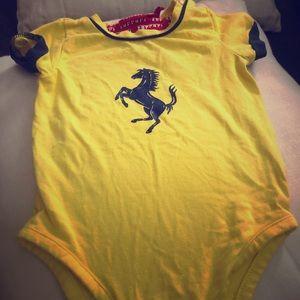 Ferrari onesie size 3-6